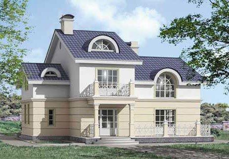 Крыша сложной конструкции (рис. 12)